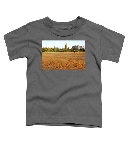 Early Fall Morning In The Rough On The Golf Course Toddler T-Shirt