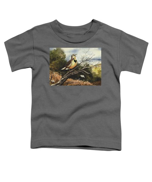 Eastern Meadowlark Toddler T-Shirt