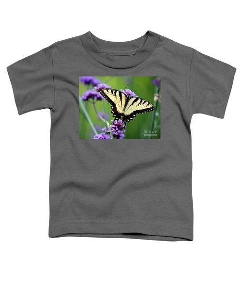 Eastern Tiger Swallowtail Butterfly 2014 Toddler T-Shirt