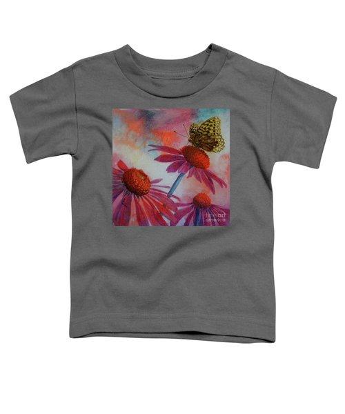 Echinacea Fritillaria Toddler T-Shirt