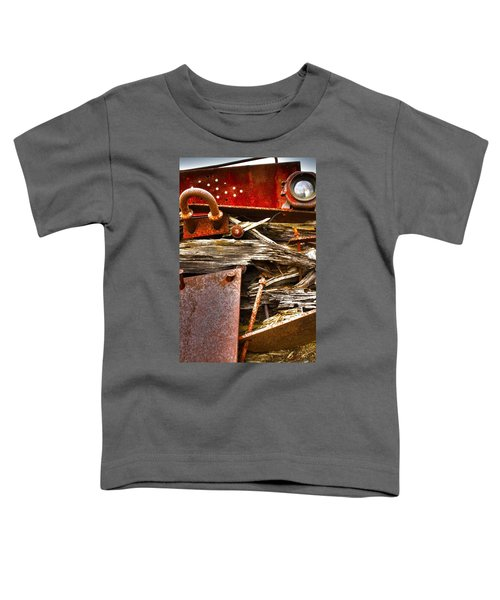 Eckley Faces Toddler T-Shirt