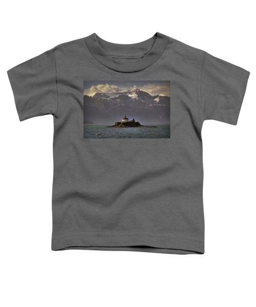 Eldred Rock Lighthouse Alaska Toddler T-Shirt