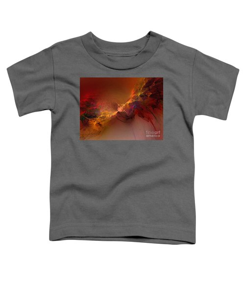 Elemental Force-abstract Art Toddler T-Shirt