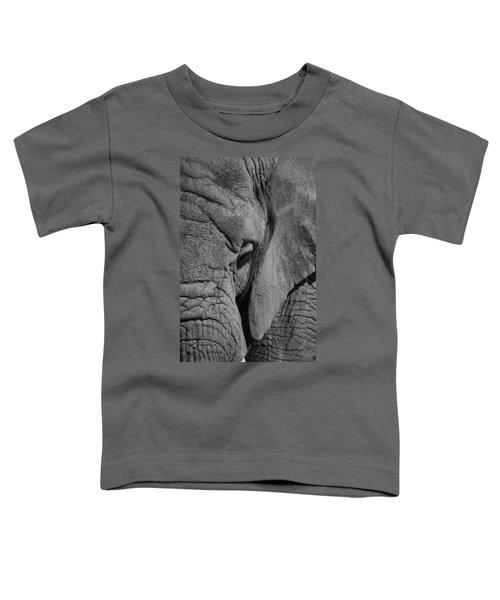 Elephant Bw Toddler T-Shirt