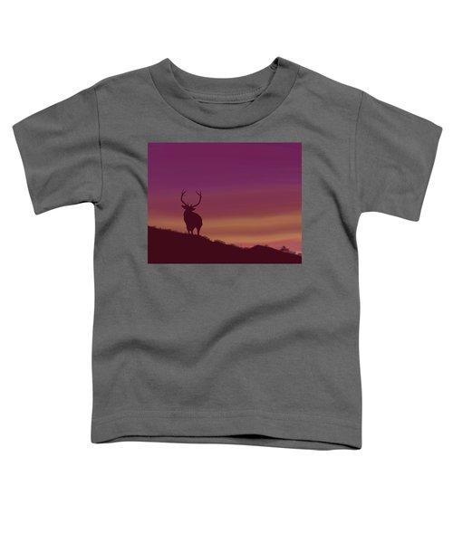Elk At Dusk Toddler T-Shirt