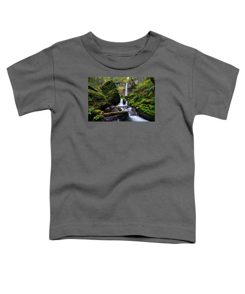 Elowah Falls Toddler T-Shirt