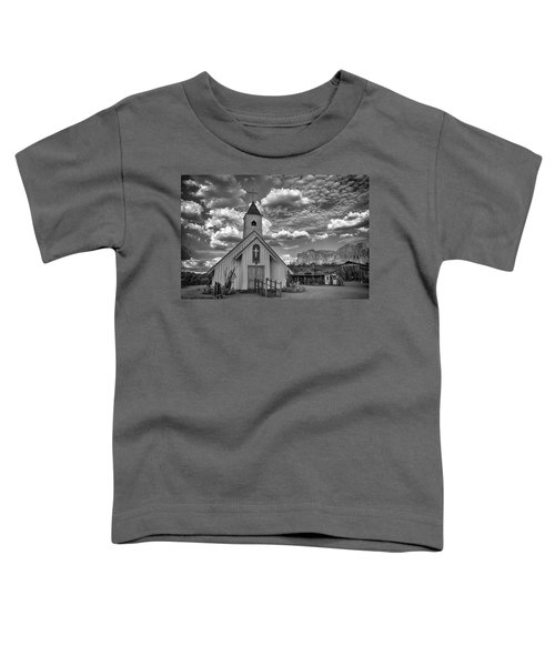 Elvis Presley Chapel At The Superstitions Toddler T-Shirt