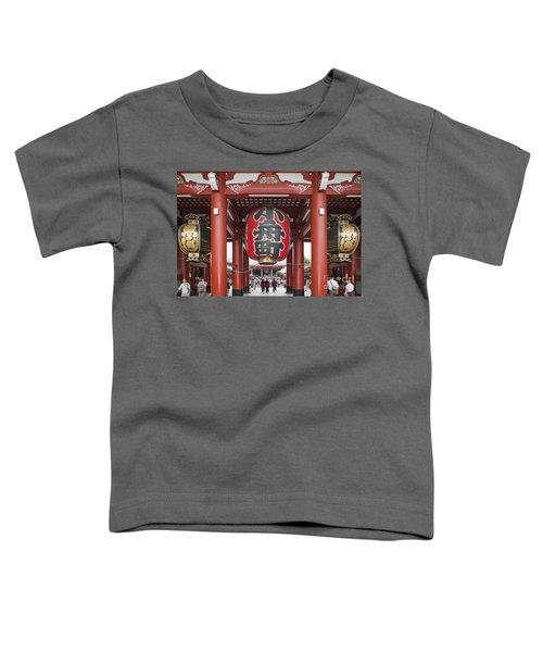 Entrance To Senso-ji Temple Toddler T-Shirt