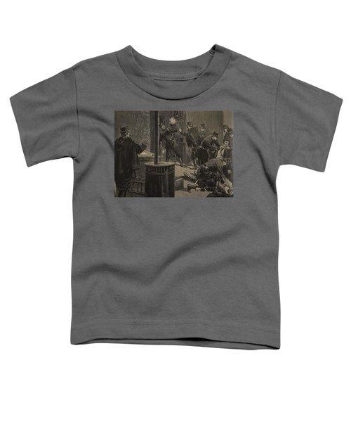 Etievant, The Anarchist Shoots Toddler T-Shirt