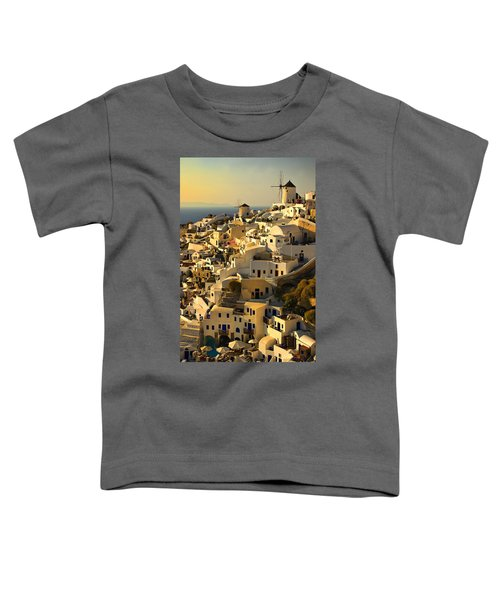evening in Oia Toddler T-Shirt