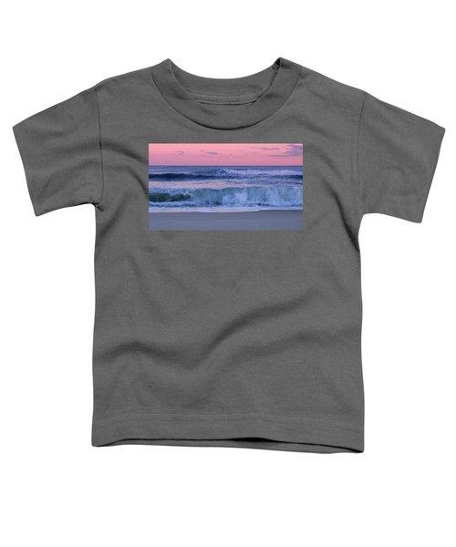 Evening Waves - Jersey Shore Toddler T-Shirt