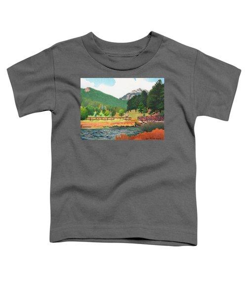 Evergreen Lake Spring Toddler T-Shirt