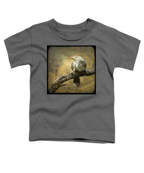 Exotic Bird - Guira Cuckoo Bird Toddler T-Shirt