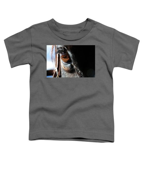 Eyeball Reflection Toddler T-Shirt