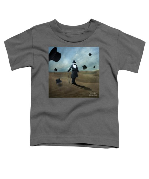 Faceless Toddler T-Shirt by Juli Scalzi