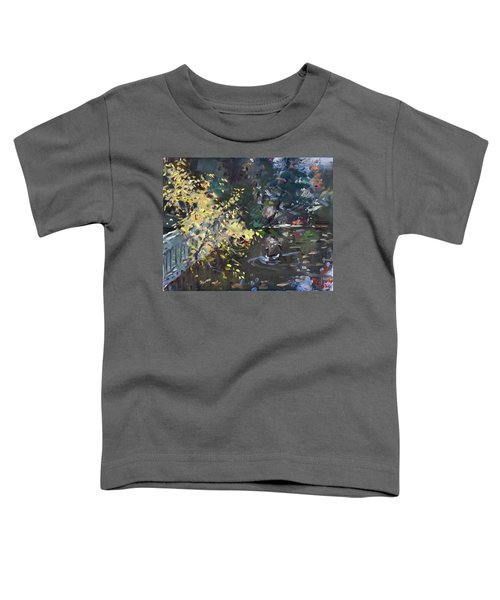 Fall By The Pond Toddler T-Shirt