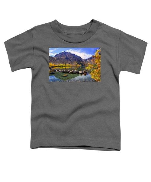 Fall Colors At Convict Lake  Toddler T-Shirt