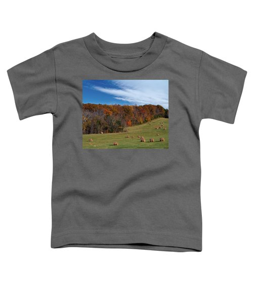 Fall On The Farm Toddler T-Shirt