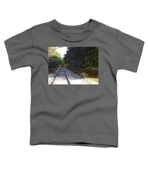 Fall Railroad Track To Somewhere Toddler T-Shirt