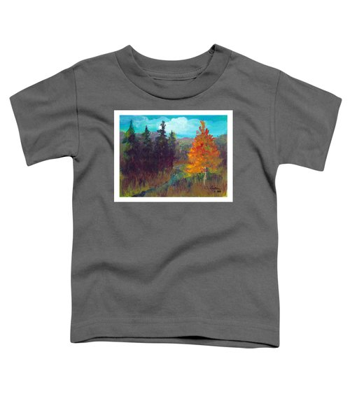 Fall View Toddler T-Shirt