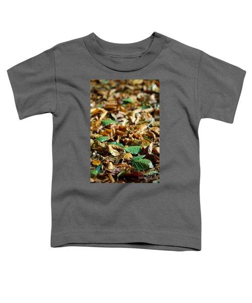 Fallen Leaves Toddler T-Shirt