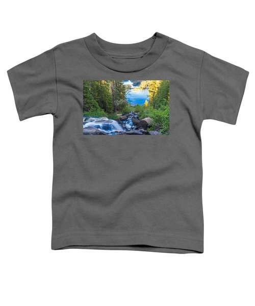 Falling Down To The Lakes Toddler T-Shirt