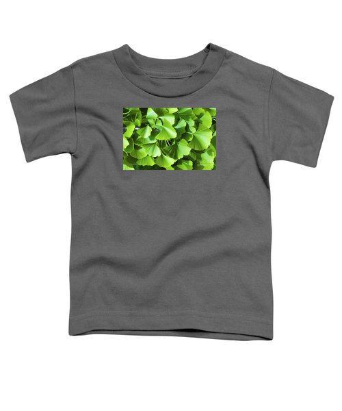 Fan Shaped Leaves Toddler T-Shirt