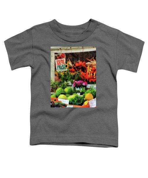 Farmer's Market Toddler T-Shirt