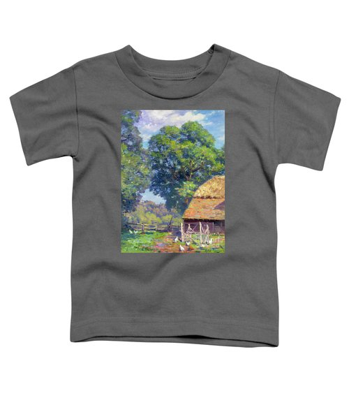 Farmyard With Poultry Toddler T-Shirt