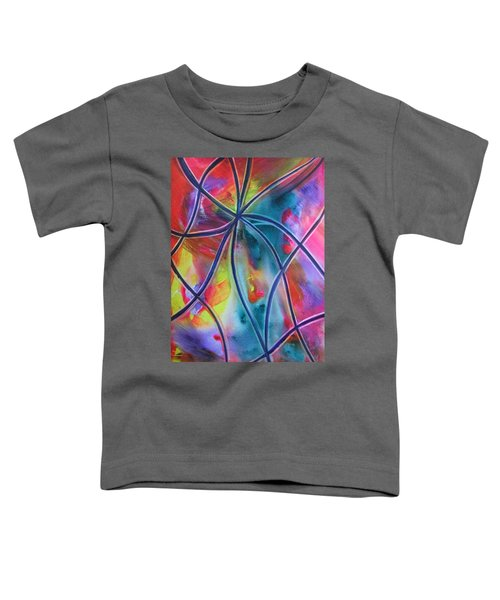 Faux Stained Glass 1 Toddler T-Shirt