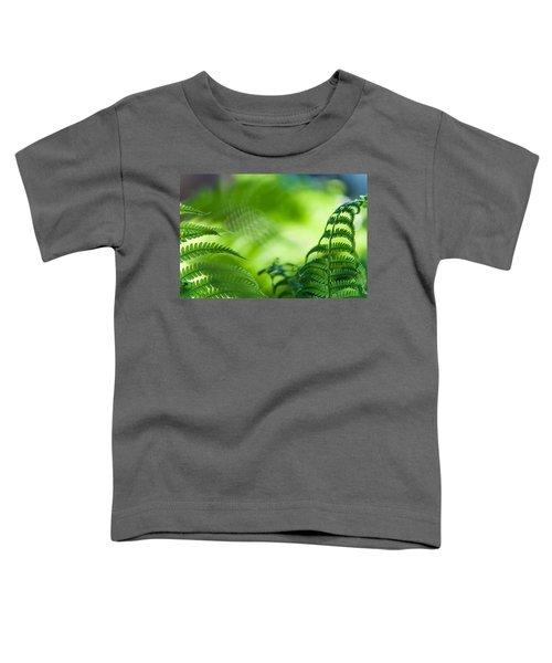 Fern Leaves. Healing Art Toddler T-Shirt