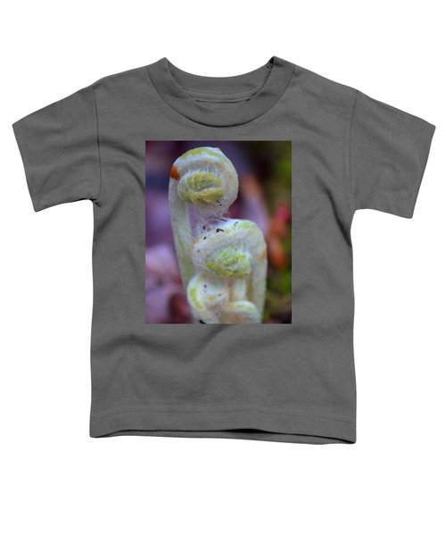 Fiddlehead Fern Toddler T-Shirt