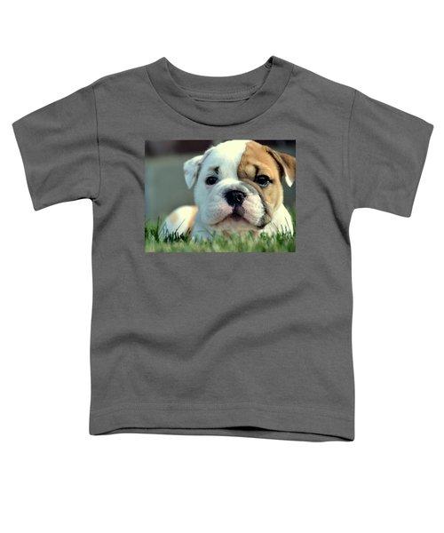 Toddler T-Shirt featuring the photograph Finally Awake by Andrea Platt