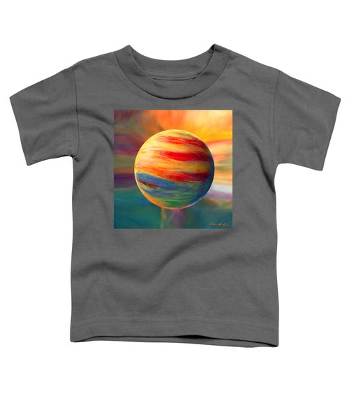 Fire And Ice Ball  Toddler T-Shirt