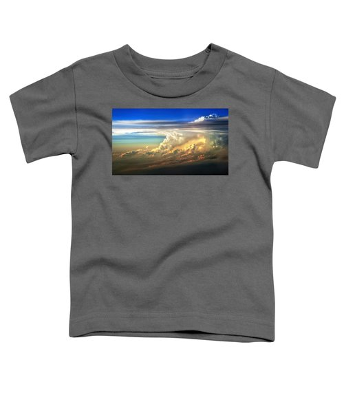 Fire In The Sky From 35000 Feet Toddler T-Shirt