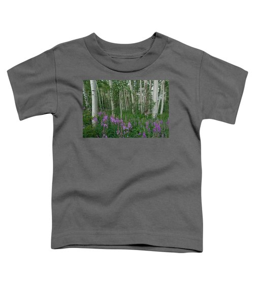 Fireweed And Aspen Toddler T-Shirt