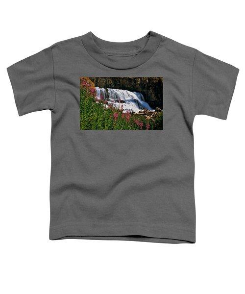 Fireweed Blooms Along The Banks Of Granite Creek Wyoming Toddler T-Shirt