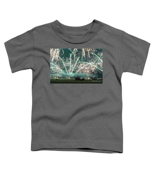 Fireworks And Aircraft Toddler T-Shirt