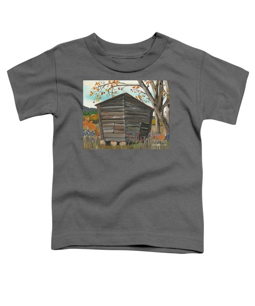 Autumn - Shack - Woodshed Toddler T-Shirt