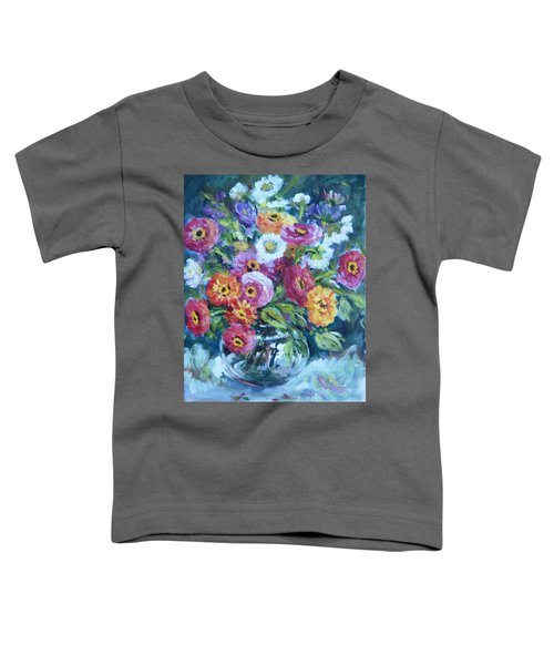 Floral Explosion No. 2 Toddler T-Shirt