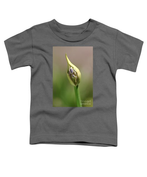 Flower-agapanthus-bud Toddler T-Shirt