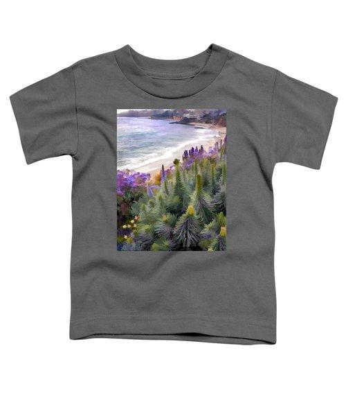 Flowering Coastline Toddler T-Shirt
