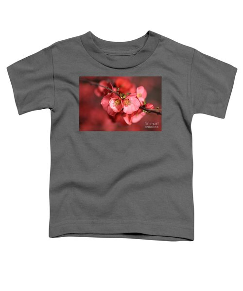Flowering Quince Toddler T-Shirt
