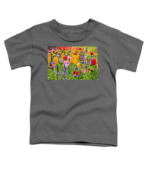 Flowers Everywhere Toddler T-Shirt