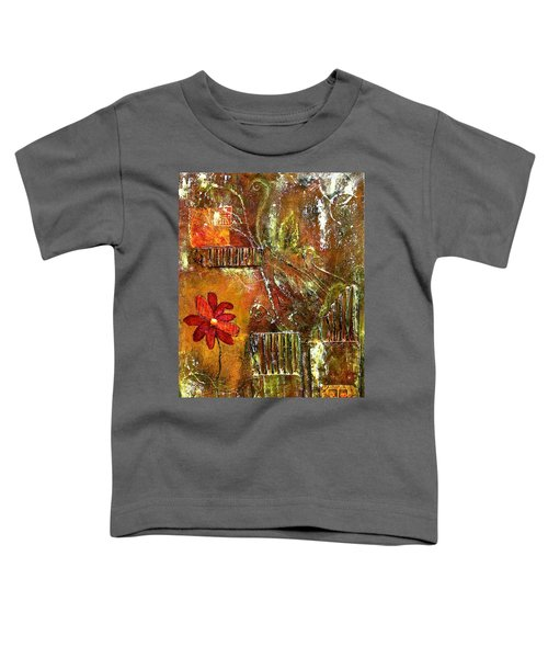 Flowers Grow Anywhere Toddler T-Shirt by Bellesouth Studio
