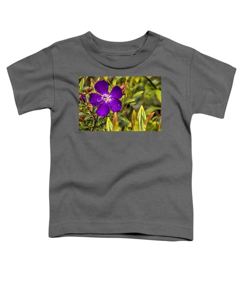 Flowers Love Water Toddler T-Shirt