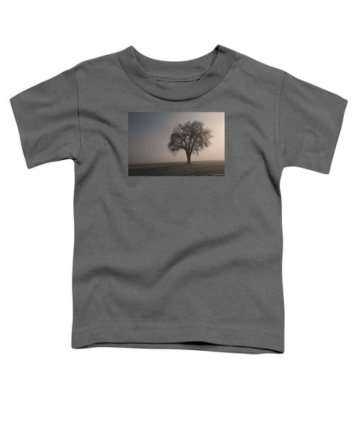 Foggy Morning Sunshine Toddler T-Shirt