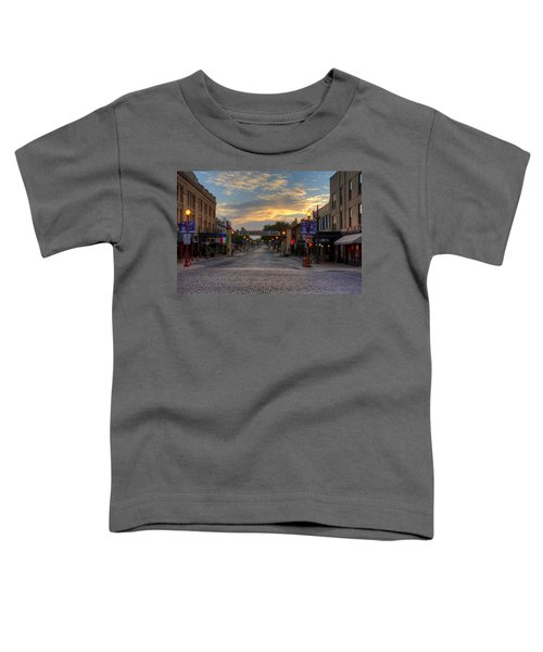 Fort Worth Stockyards Sunrise Toddler T-Shirt