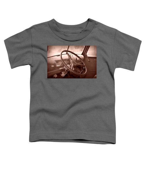 Toddler T-Shirt featuring the photograph Four On The Floor by Andrea Platt