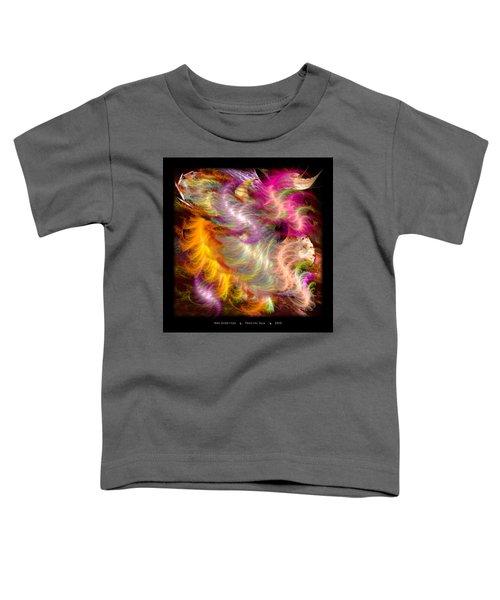 Fractal Silk Toddler T-Shirt